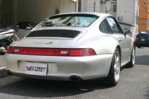 1997年式 ポルシェ 911 空冷最終モデル 993カレラ4S 6速マニュアルミッション5
