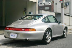 1997年式 ポルシェ 993 カレラ2 マニュアルミッション4