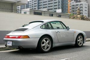 1996年式 ポルシェ911(993)カレラ ディーラー車 TIP 左ハンドル 程度上 3