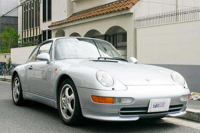 1996年式 ポルシェ911(993)カレラ ディーラー車 TIP 左ハンドル 程度上