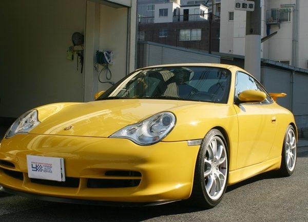 2004年式 ポルシェ 911 GT3 クラブスポーツ 新車平行車