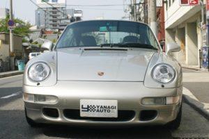 1997年式 ポルシェ 911 空冷最終モデル 993カレラ4S 6速マニュアルミッション2